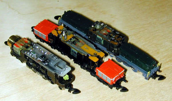 Z Scale Crocodile The photo shows